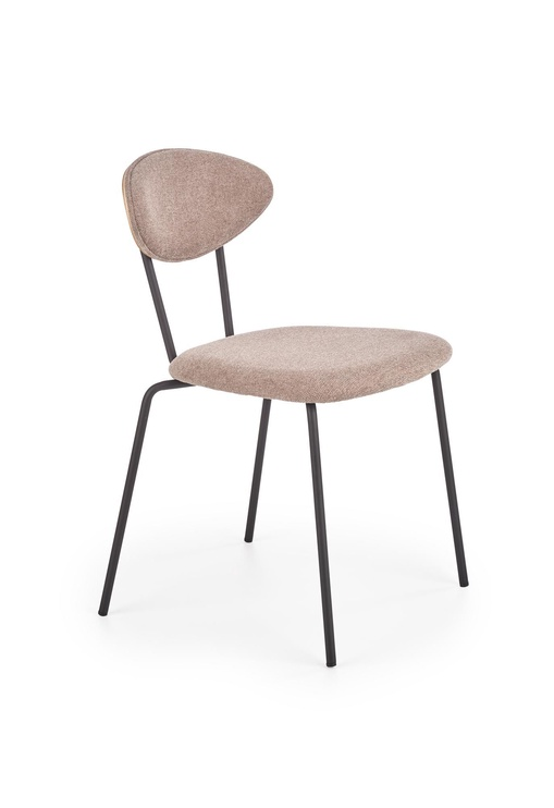 Стул для столовой Halmar K361 Dark Beige/Walnut, 1 шт.