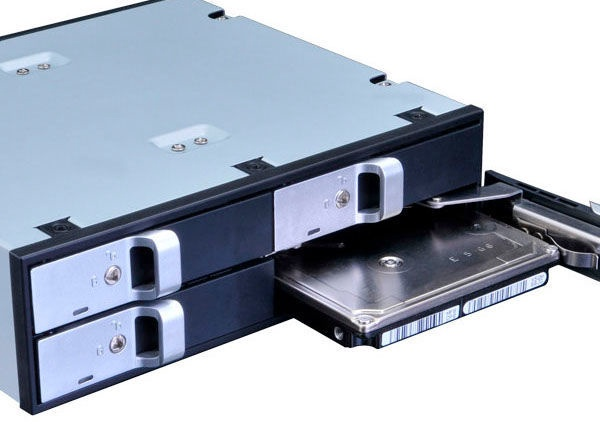"""Akasa Drive Cage 5.25"""" For 4x2.5"""" HDD/SSD"""