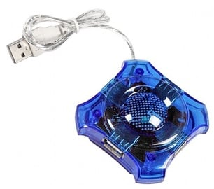 USB-разветвитель (USB-hub) Esperanza EA150 Hub 4 Port USB 2.0 Blue
