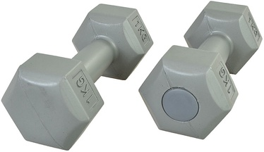 Profit HEX Set Of Dumbbells Gray 1kg