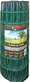 Besk 1.5x25m Wire Fence 100x100