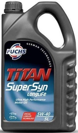 Fuchs Titan Supersyn Longlife 5W40 Engine Oil 5l