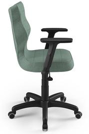 Офисный стул Entelo Uni AL05, черный/зеленый