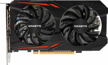 Vaizdo plokštė Gigabyte GeForce GTX1050 Ti OC 4GB GDDR5 PCIE GV-N105TOC-4GD