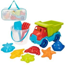 Smilšu kastes rotaļlietu komplekts CB Toys Playset, daudzkrāsains, 10 gab.