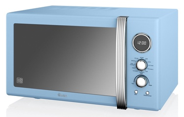 Swan Retro Digital Combi Microwave SM22080BLN Blue