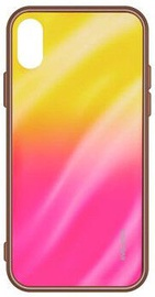 Evelatus Water Ripple Gradient Back Case For Xiaomi Redmi Note 8 Yellow-Pink