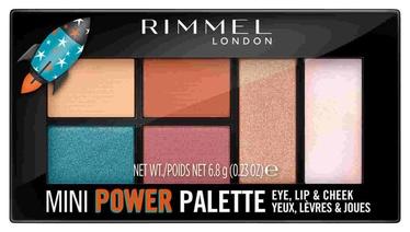 Rimmel London Mini Power Palette 6.8g 004