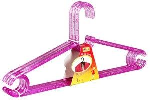 Verners Hangers Crystal 3pcs Pink