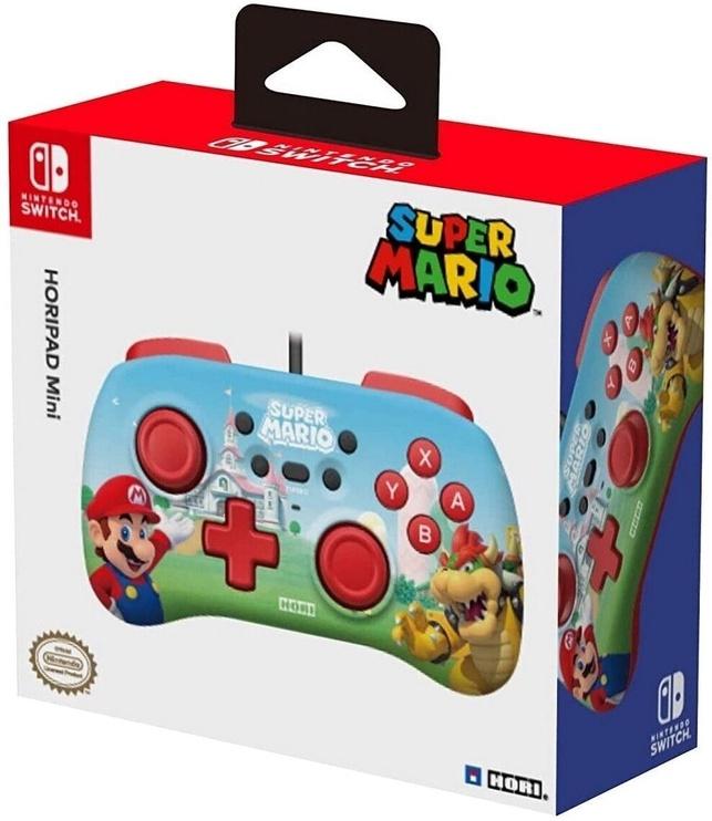 Игровой контроллер HORI Horipad Mini Wired Controller Super Mario Edition