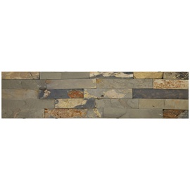 SN Stone Marble Rustic Floor Tiles 15x60cm Brown Grey