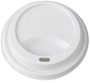 Arkolat Lid For Thermo Cups 100Pcs White