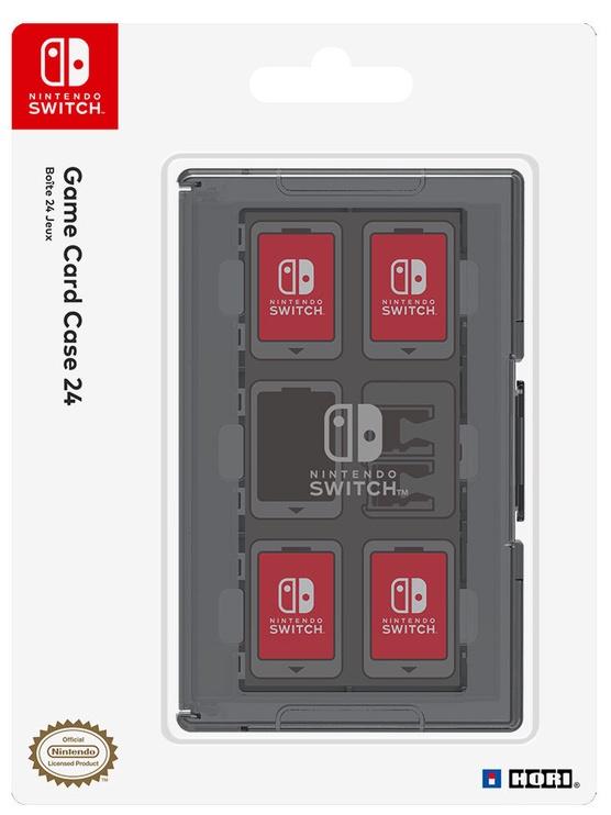 Аксессуар Hori Game Card Case 24 For Nintendo Switch Black
