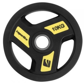 inSPORTline Rubber-Coated Olympic Weight Plate 10kg