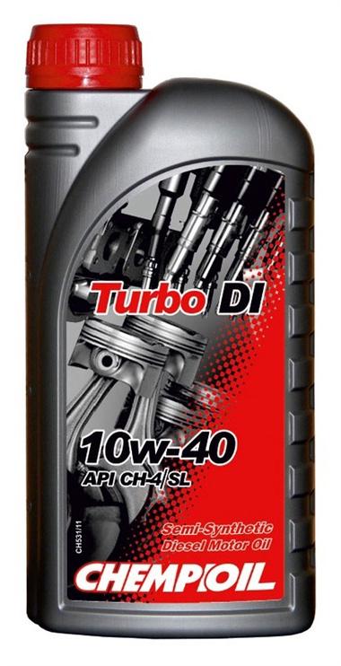Машинное масло Chempioil Turbo DI 10W/40 Engine Oil 1l