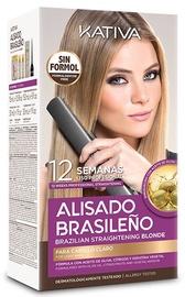 Kativa Brazilian Straightening Blonde 6pcs Set 225ml