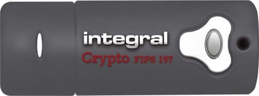 Integral Crypto Drive Fips 197 Encrypted 64GB USB 3.0 INFD64GCRY3.0197