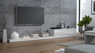 Cama Meble Life 300 TV Stand White/White Gloss