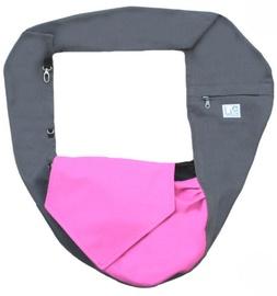 Liletink Pinki Pet Carrier Bag M Gray/Pink