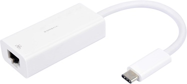 Vivanco USB-C RJ45 Adapter White