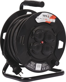Yato YT-81053 Cable Reel 30m Black