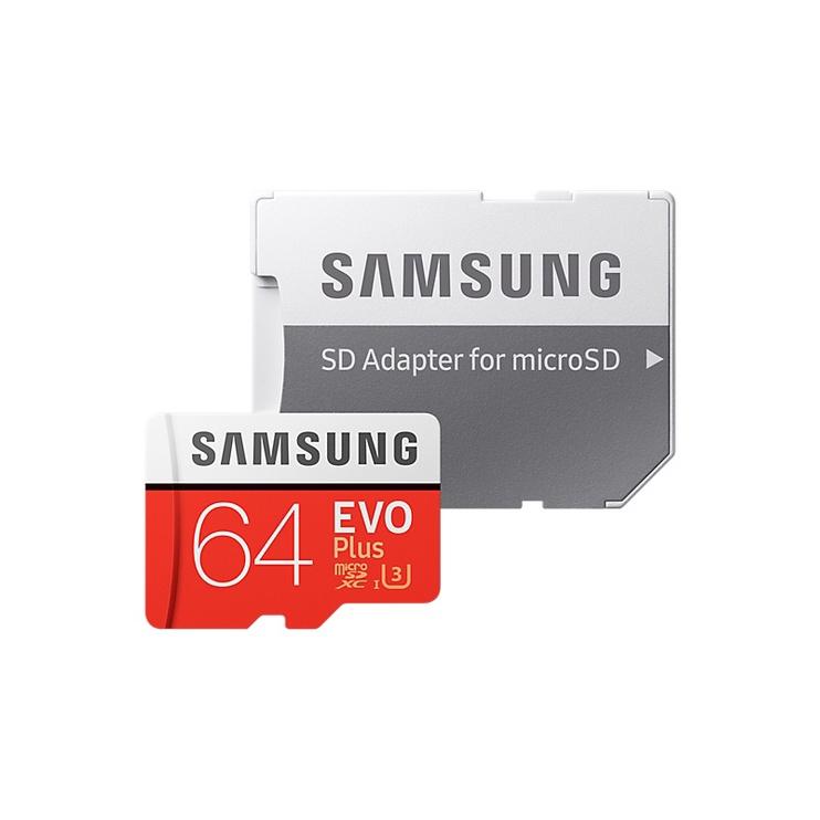 Mälukaart 64GB EVO+ SAMSUNG MB-MC64GA/EU R100/W60