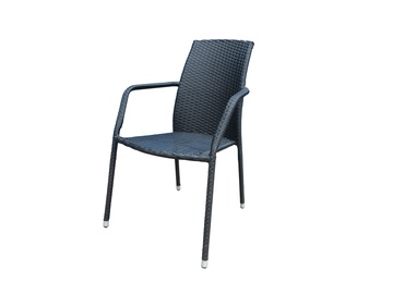 Etienne 47222 Garden Chair Black