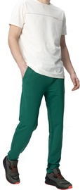 Audimas Straight Fit Stretch Sweatpants With Cotton Evergreen 176/L