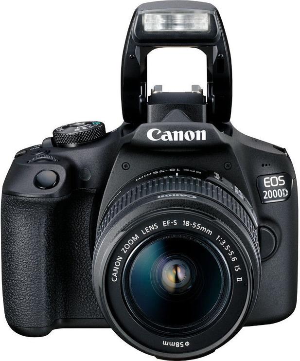 Canon EOS 2000D EF-S 18-55mm IS II + EF 75-300mm III