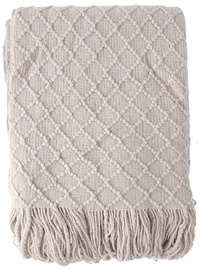 Home4you Felice Blanket 130x170cm Light Gray
