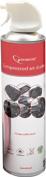 Gembird Compressed Air Duster (flammable) 600ml CK-CAD-FL600-01