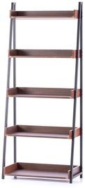 Homede Trax Rack Espresso 67x32x158cm