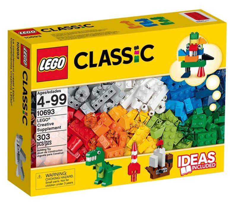 Конструктор LEGO Classic Creative Supplement 10693 10693, 303 шт.