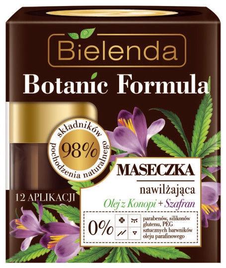 Bielenda Botanic Formula Hemp Oil + Saffron Face Mask 50ml