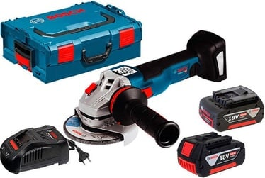 Bosch GWS 18V-10 C Cordless Angle Grinder with 2x5Ah Batteries/GAL1880CV