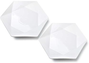 Mondex Ralph Dinner Plates White 2pcs