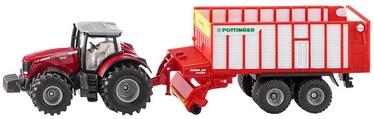 Siku Massey Ferguson Tractor With Poettinger Jumbo 1987