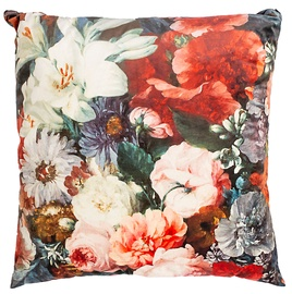 Pagalvėlė Home4you Holly Floral Velvet, 650x650 mm