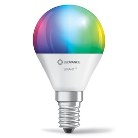 Viedā spuldze Ledvance LED, E14, P45, 5 W, 470 lm, 2700 - 6500 °K, rgb, 1 gab.