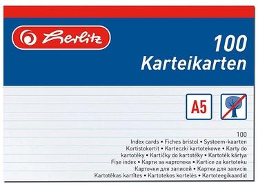 Indeks Herlitz 1150507, 100 tk