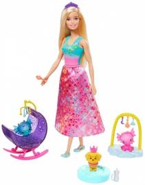 Mattel Barbie Dreamtopia Dragon Nursery Playset GJK49/GJK51