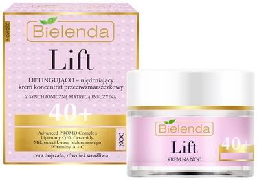 Крем для лица Bielenda Lift Lifting Firming Cream Concentrate Anti Wrinkle 40+ Night, 50 мл