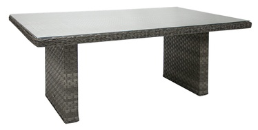 Home4you Geneva Garden Table Grey
