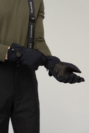 Audimas Men's Ski Gloves Black M