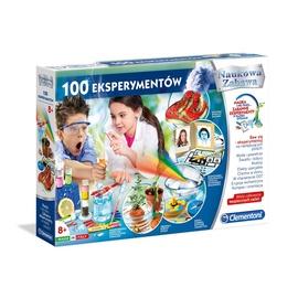 Edukacinis žaidimas Clementoni 100 Eksperimentų 50572 LT/LV/EE