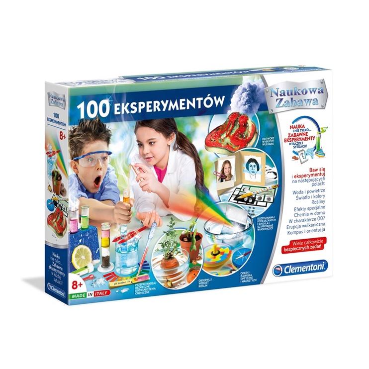 Žaidimas Clementoni 100 eksperimentų lt+lv+ee 50572