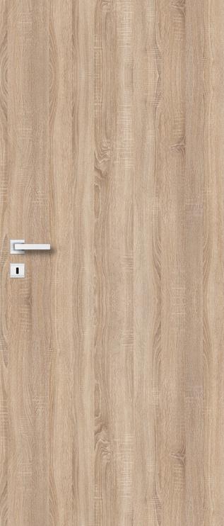 Полотно межкомнатной двери PerfectDoor UNO, дубовый, 203.5 см x 84.4 см x 4 см
