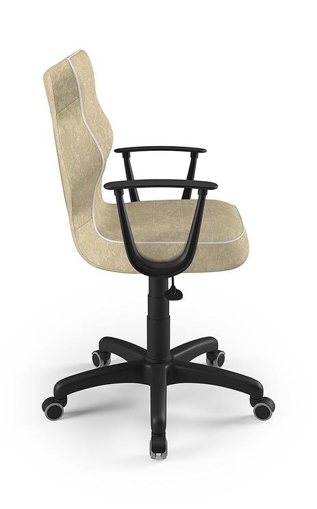 Детский стул Entelo Norm Size 6 VS26, черный/кремовый, 400 мм x 1045 мм
