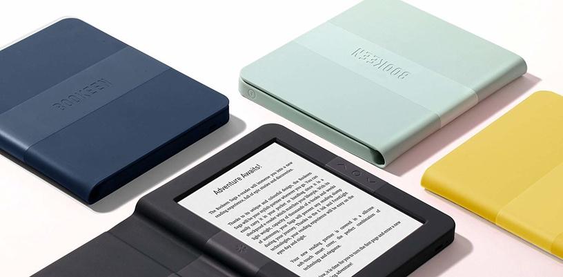 Elektroninė knygų skaityklė Bookeen Saga Blue, 8 GB