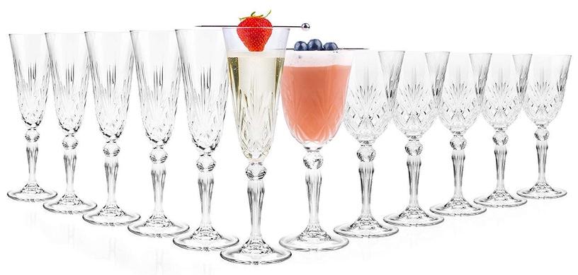 Šampanja klaas RCR Melodia, 0.16 l, 6 tk